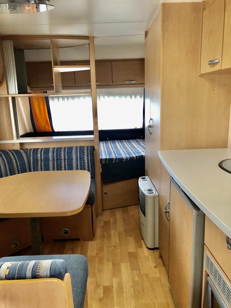 KNAUS SUDWIND AZUR 550 TK - Usato - Accessori campeggio